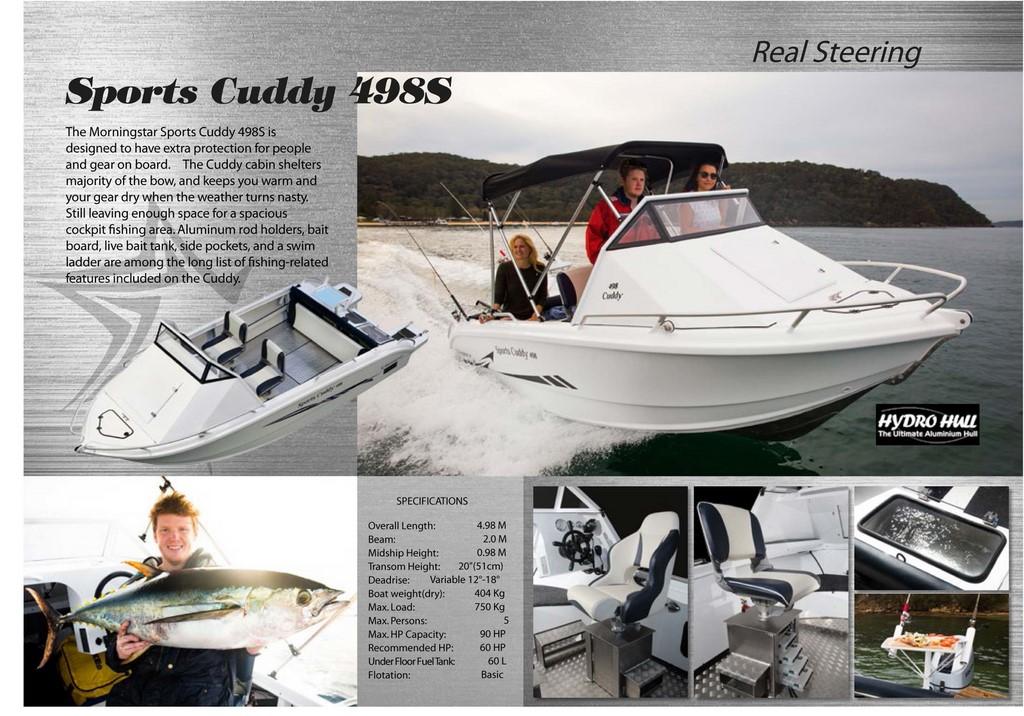 morningstar boats 498S